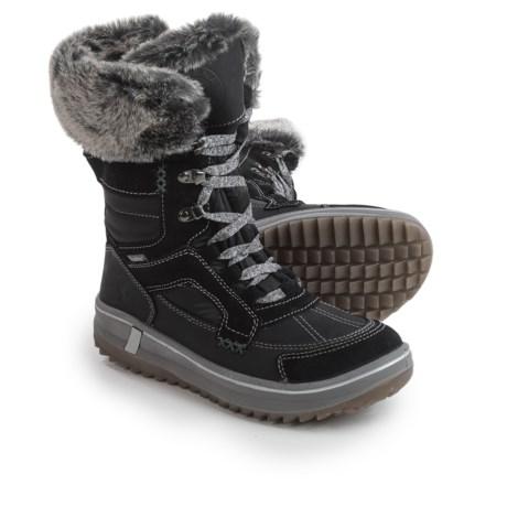Santana Canada Marta Snow Boots - Waterproof (For Women) in Black