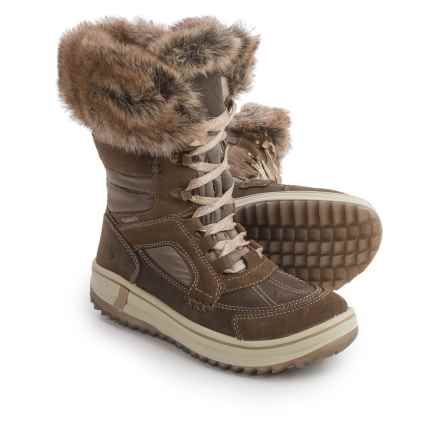Santana Canada Marta Snow Boots - Waterproof (For Women) in Tan - Closeouts