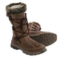 Santana Canada Mendoza Leather Snow Boots - Waterproof (For Women) in Brown - Closeouts