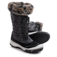 Santana Canada Mikale Snow Boots - Waterproof, Insulated (For Women) in Black - Closeouts