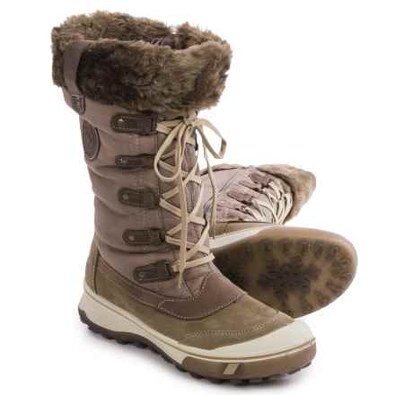 Santana Canada Mikale Snow Boots - Waterproof, Insulated (For Women) in Tan - Closeouts