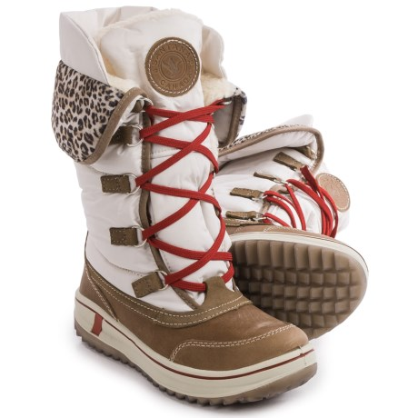 Santana Canada Mirabelle Snow Boots - Waterproof, Insulated (For Women) in Ice