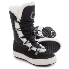 Santana Canada Montreaux Snow Boots - Waterproof, Insulated (For Women) in Black - Closeouts