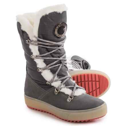 Santana Canada Montreaux Snow Boots - Waterproof, Insulated (For Women) in Grey - Closeouts