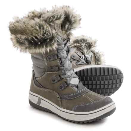 Santana Canada Myrah Snow Boots - Waterproof, Insulated (For Women) in Grey - Closeouts