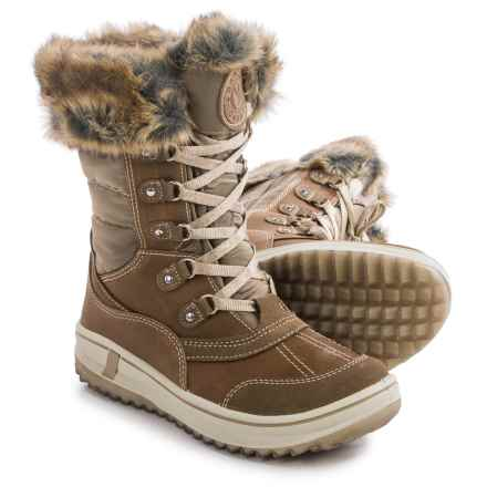 Santana Canada Myrah Snow Boots - Waterproof, Insulated (For Women) in Tan - Closeouts