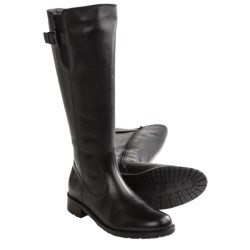 Santana Canada Palomino Leather Boots (For Women) in Black