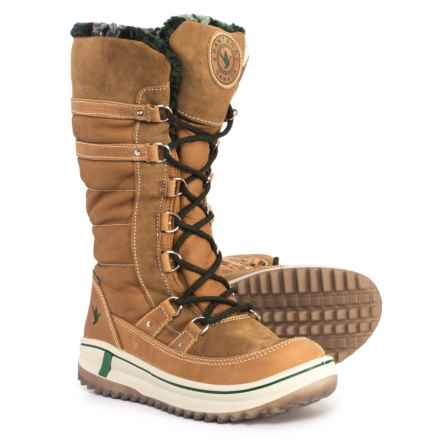 Santana Canada Phoenix Winter Boots - Waterproof, Insulated, Leather (For Women) in Wheat - Closeouts
