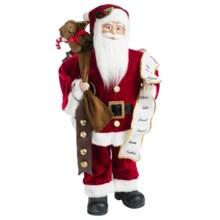 """Santa's Workshop 24"""" Collectible Santa in Traditional Santa - Closeouts"""