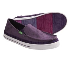 Sanuk Baseline Stacked Shoes (For Men) in Purple - Closeouts