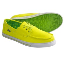 Sanuk Beacon Shoes (For Men) in Fluoro Yellow - Closeouts
