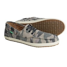 Sanuk Casa Barco Shoes (For Men) in Camo - Closeouts