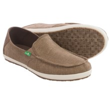 Sanuk Casa Vintage Shoes - Slip-Ons (For Men) in Brown - Closeouts