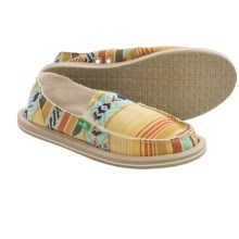 Sanuk Donna Shoes (For Women) in Dusty Yellow/Multi - Closeouts