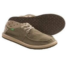 Sanuk Drewby Shoes (For Men) in Faded Olive - Closeouts