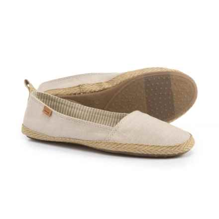 Sanuk Espie Espadrilles - Slip-Ons (For Women) in Natural - Closeouts