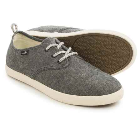 Sanuk Guide TX Shoes (For Men) in Black Chambray - Closeouts