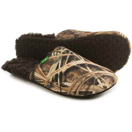 Sanuk Half Dome Blades Slippers (For Men) in Mossy Oak - Closeouts