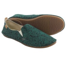 Sanuk Isabel Prints Shoes - Slip-Ons (For Women) in Mallard - Closeouts