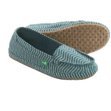 Sanuk Izabella Canvas Shoes - Slip-Ons (For Women) in Mallard - Closeouts