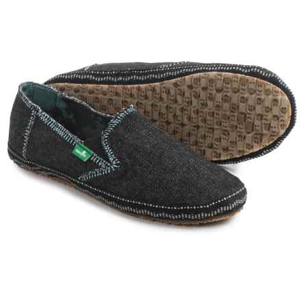 Sanuk Jenny Shoes - Slip-Ons (For Women) in Black - Closeouts