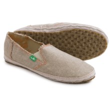 Sanuk Jenny Shoes - Slip-Ons (For Women) in Natural - Closeouts
