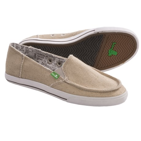 Sanuk June Bug Shoes (For Women) in Natural