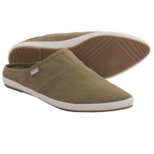 Sanuk Kat Nip Backless Shoes - Slip-Ons (For Women) in Olive - Closeouts
