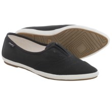 Sanuk Kat Paw Shoes - Slip-Ons (For Women) in Black - Closeouts
