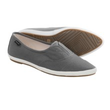 Sanuk Kat Paw Shoes - Slip-Ons (For Women) in Cement - Closeouts
