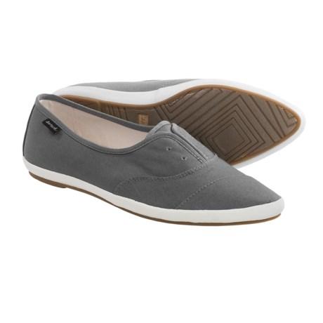 Sanuk Kat Paw Shoes Slip Ons (For Women)