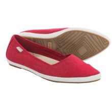 Sanuk Kat Prowl Espadrilles (For Women) in Red - Closeouts