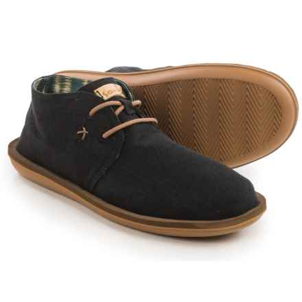 Sanuk Koda Chukka Boots (For Men) in Black - Closeouts