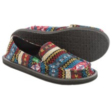Sanuk Mika Shoes - Slip-Ons (For Women) in Multi Nordic - Closeouts