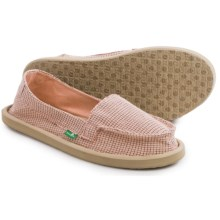 Sanuk Misty Shoes - Slip-Ons (For Women) in Rose - Closeouts