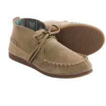 Sanuk Moccodile Suede Moccasins (For Women) in Tan - Closeouts