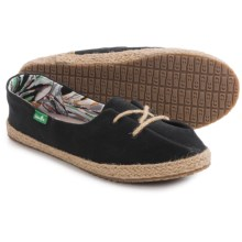 Sanuk Mochi Lace Shoes (For Women) in Black - Closeouts
