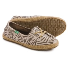 Sanuk Mochi Lace Shoes (For Women) in Brown/Natural - Closeouts