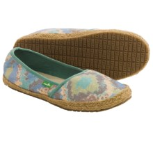 Sanuk Mya Shoes - Slip-Ons (For Women) in Blue/Multi - Closeouts