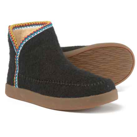 Sanuk Nice Bootah Ankle Boots (For Women) in Black - Closeouts