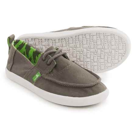 Sanuk Offshore Shoes - Lace-Ups (For Little and Big Boys) in Brindle - Closeouts