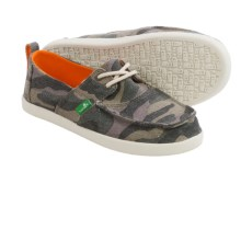 Sanuk Offshore Shoes - Lace-Ups (For Little and Big Boys) in Camo - Closeouts
