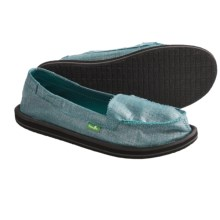 Sanuk Ohm My Shoes - Slip-Ons (For Women) in Teal - Closeouts