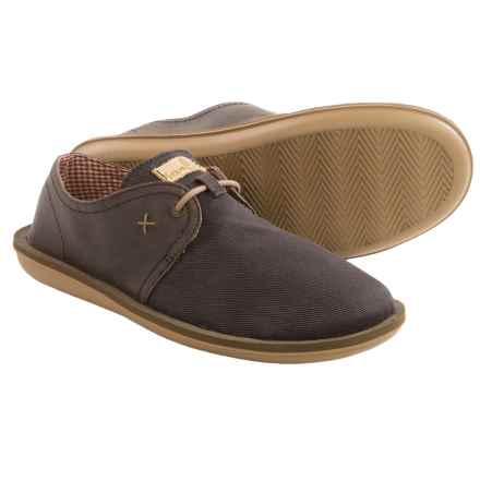 Sanuk Parra Select Shoes - Vegan Leather (For Men) in Brown - Closeouts