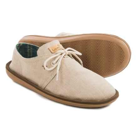 Sanuk Parra Shoes - Canvas (For Men) in Natural - Closeouts