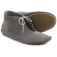 Sanuk Penelope Ankle Boots - Suede (For Women) in Charcoal - Closeouts