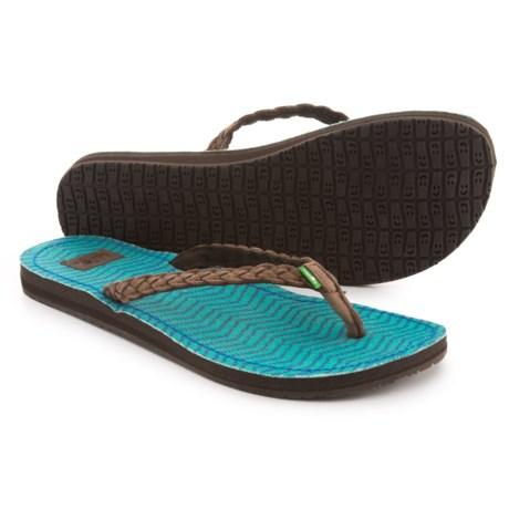 Sanuk Poncho Viva Sandals - Flip-Flops (For Women)