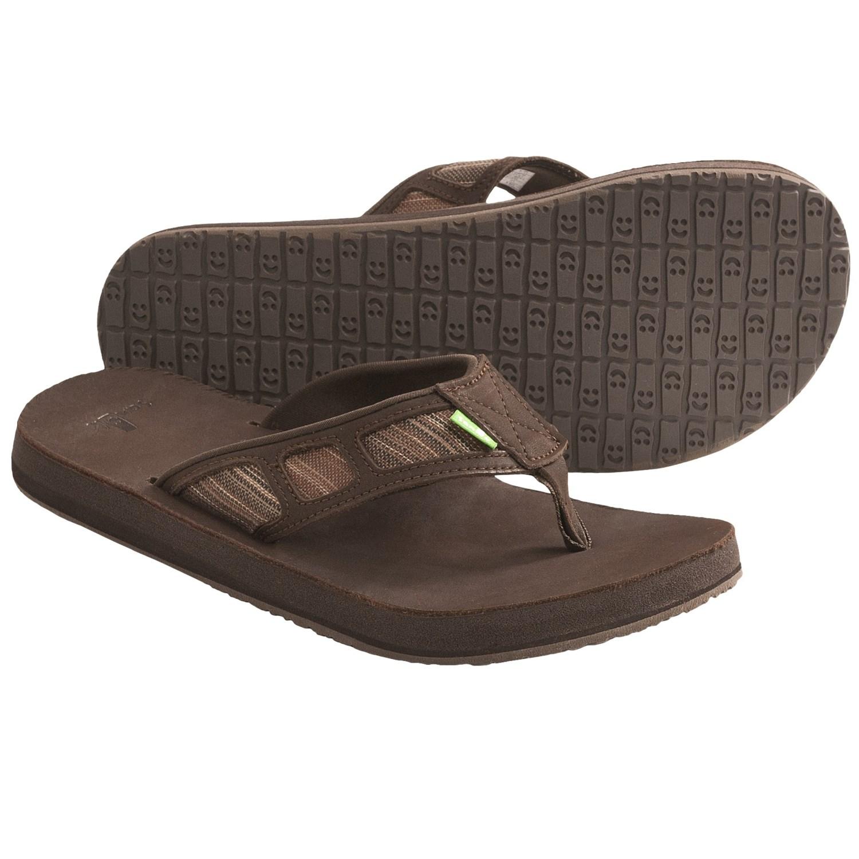 5513d2aa4e95fa Leather Flip Flops For Men ~ Men Sandals