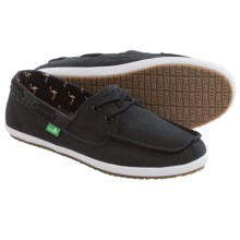 Sanuk Sailaway 2 Shoes - Canvas (For Women) in Black - Closeouts