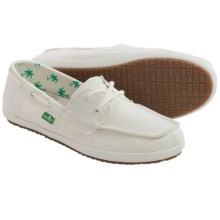 Sanuk Sailaway 2 Shoes - Canvas (For Women) in Off White - Closeouts